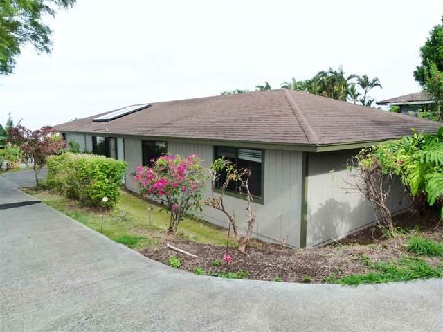 58 C Mohala Pl #103, Pukalani, HI 96768 (MLS #389510) :: Corcoran Pacific Properties