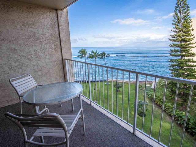 4365 Lower Honoapiilani Rd #604, Lahaina, HI 96761 (MLS #389893) :: Team Lally