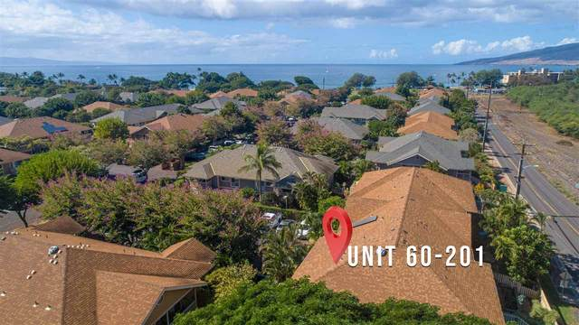 140 Uwapo Rd 60-201, Kihei, HI 96753 (MLS #389940) :: Team Lally