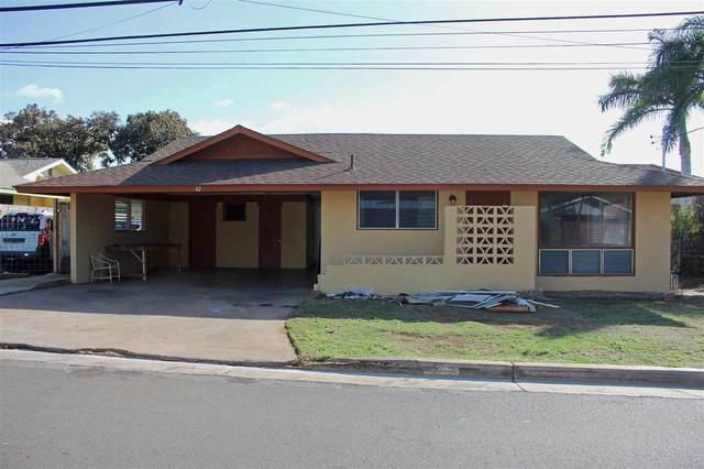 42 Kupuna St, Kihei, HI 96753 (MLS #390074) :: Maui Estates Group