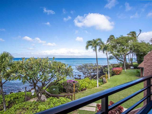 3959 Lower Honoapiilani Rd #409, Lahaina, HI 96761 (MLS #390174) :: 'Ohana Real Estate Team