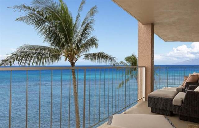 4365 Lower Honoapiilani Rd #510, Lahaina, HI 96761 (MLS #390223) :: Speicher Group