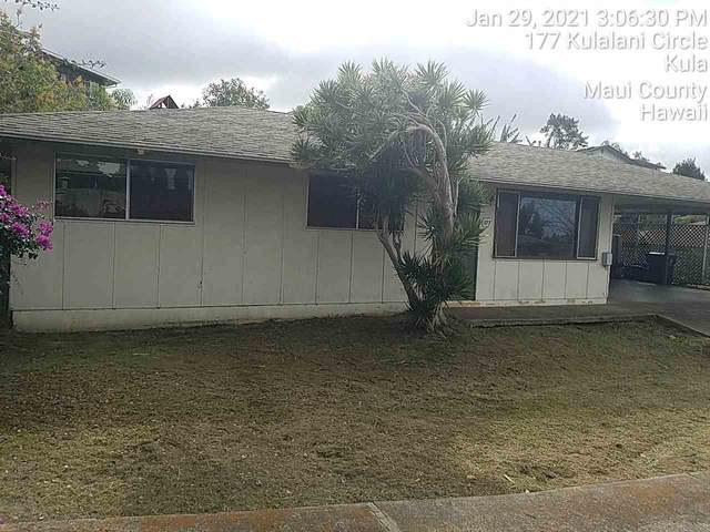 177 Kulalani Cir, Kula, HI 96790 (MLS #390353) :: Corcoran Pacific Properties
