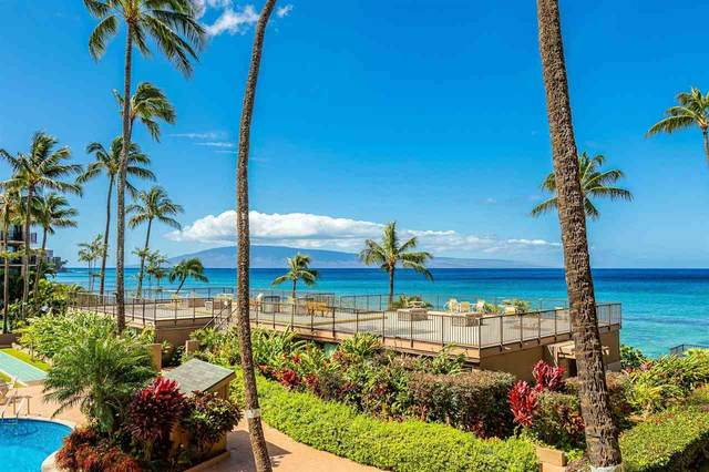3823 Lower Honoapiilani Rd #204, Lahaina, HI 96761 (MLS #390514) :: Speicher Group