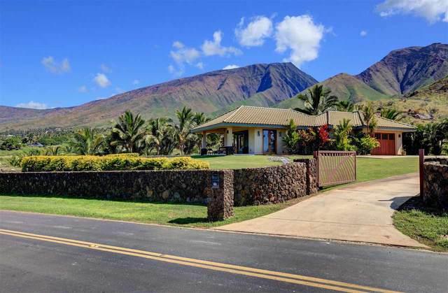 133 Pua Niu Way, Lahaina, HI 96761 (MLS #390883) :: Coldwell Banker Island Properties