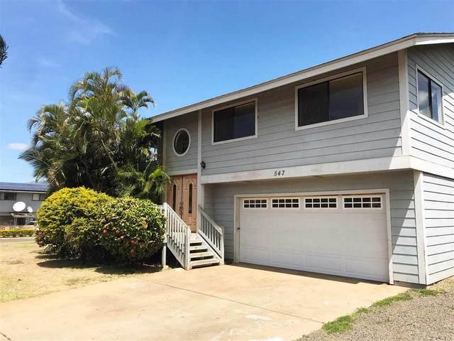 547 Kaiwahine St, Kihei, HI 96753 (MLS #391087) :: 'Ohana Real Estate Team