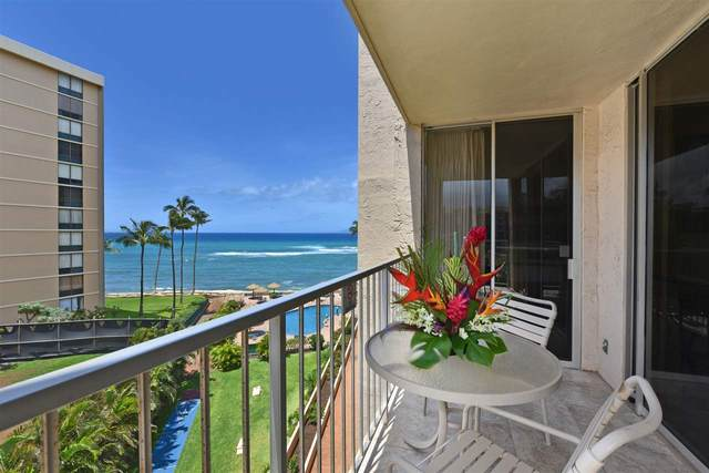 4365 Lower Honoapiilani Rd #520, Lahaina, HI 96761 (MLS #391126) :: Speicher Group