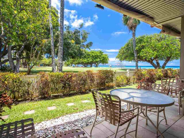3691 Lower Honoapiilani Rd #110, Lahaina, HI 96761 (MLS #391499) :: Hawaii Life Real Estate Brokers