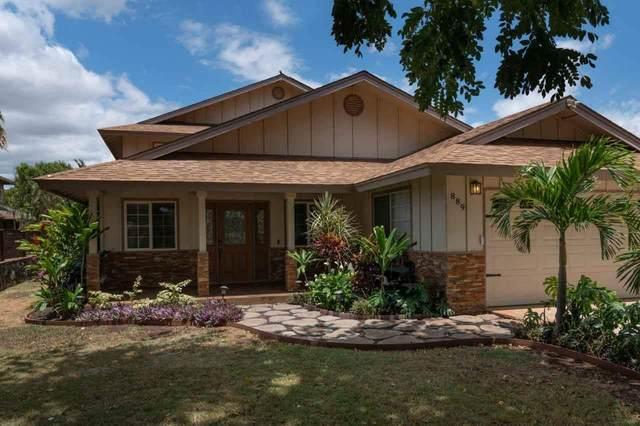 889 Malulani St, Kihei, HI 96753 (MLS #391601) :: LUVA Real Estate