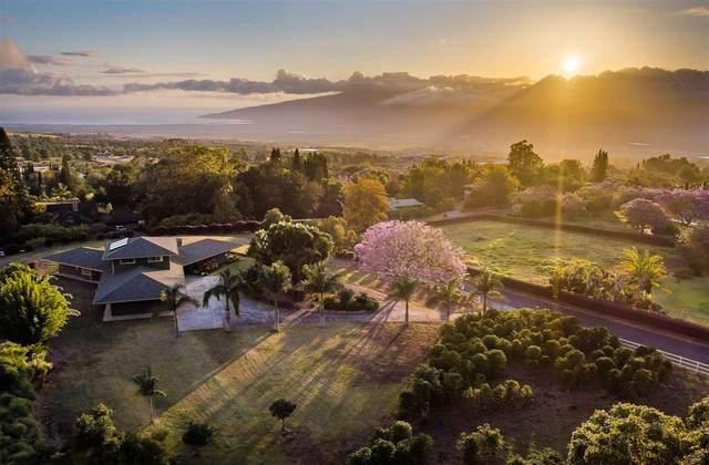 20 Lealea Pl, Pukalani, HI 96768 (MLS #391731) :: Maui Lifestyle Real Estate | Corcoran Pacific Properties