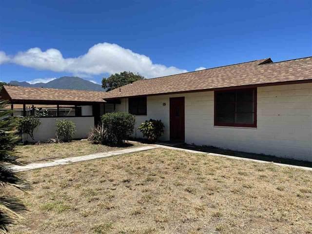 101 Kuula St, Kahului, HI 96732 (MLS #391793) :: Maui Lifestyle Real Estate   Corcoran Pacific Properties