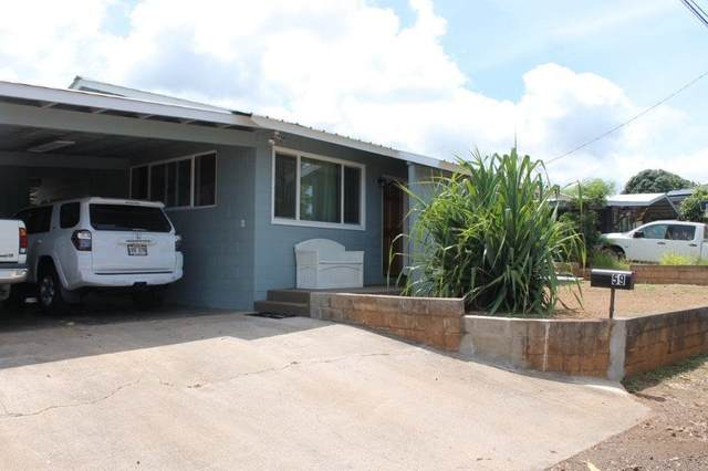 51 Ainaola St, Wailuku, HI 96793 (MLS #391943) :: Team Lally