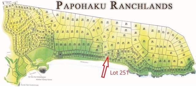0 Kalua Koi Rd Lot 251, Maunaloa, HI 96770 (MLS #392212) :: Compass