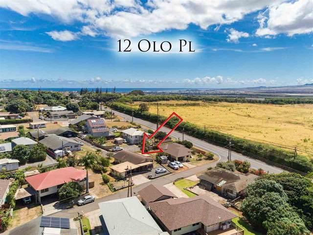 12 Olo Pl, Wailuku, HI 96793 (MLS #392287) :: Coldwell Banker Island Properties