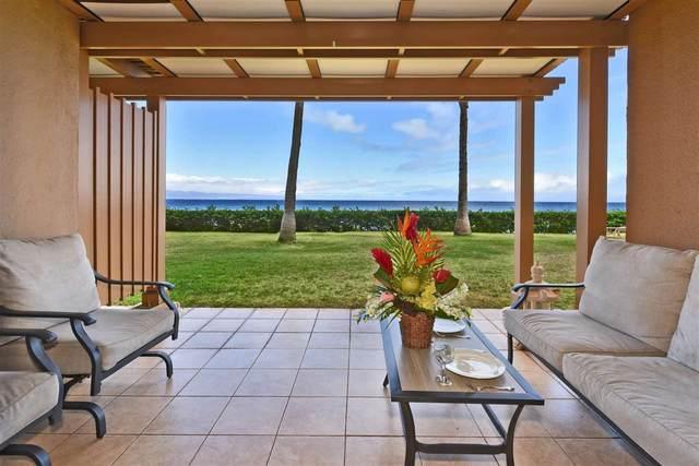 110 Kaanapali Shores Pl #112, Lahaina, HI 96761 (MLS #392466) :: LUVA Real Estate
