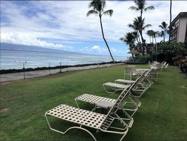 3785 Lower Honoapiilani Rd #105, Lahaina, HI 96761 (MLS #392504) :: Hawai'i Life