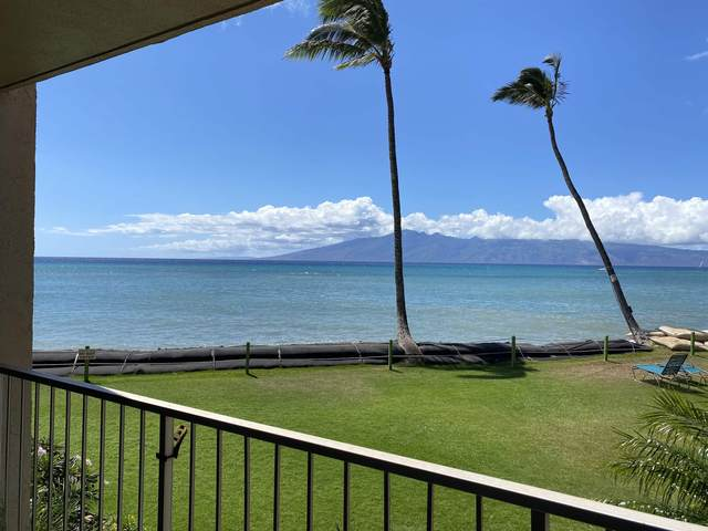 4365 Lower Honoapiilani Rd #109, Lahaina, HI 96761 (MLS #392695) :: Maui Lifestyle Real Estate   Corcoran Pacific Properties