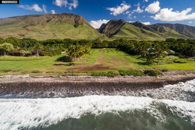 63 Kuahulu Pl, Lahaina, HI 96761 (MLS #372292) :: Maui Estates Group