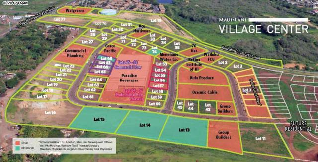 66 Laa St Lot 16, Kahului, HI 96732 (MLS #373333) :: Maui Estates Group