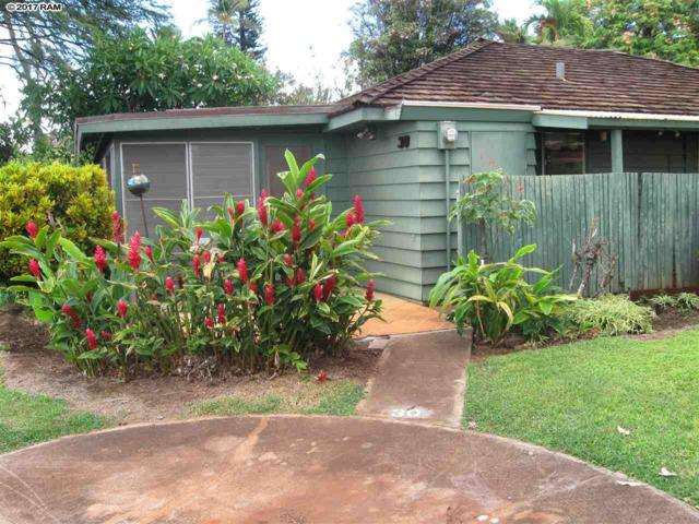 2750 Kalapu Dr #30, Lahaina, HI 96761 (MLS #374442) :: Elite Pacific Properties LLC