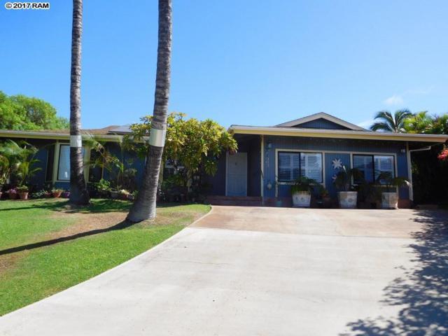 305 Ohina Pl, Kihei, HI 96753 (MLS #375489) :: Elite Pacific Properties LLC