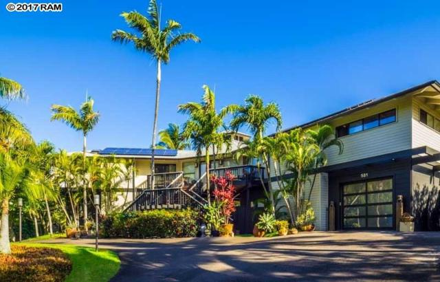 581 Stable Rd, Paia, HI 96779 (MLS #375921) :: Elite Pacific Properties LLC
