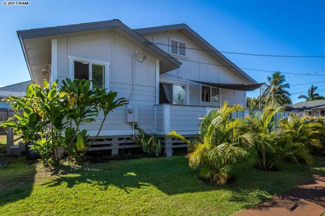21 Meha Pl Unit 1, Paia, HI 96779 (MLS #376321) :: Island Sotheby's International Realty