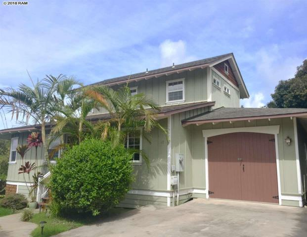 17-19 Hookano Pl A & B, Kula, HI 96790 (MLS #377071) :: Elite Pacific Properties LLC