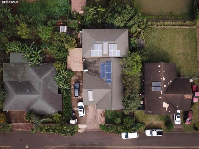 64 Palekana St, Paia, HI 96779 (MLS #377317) :: Elite Pacific Properties LLC