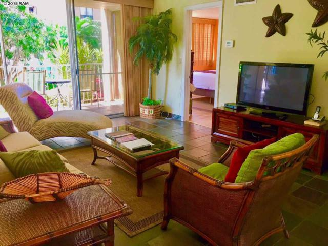 4365 Lower Honoapiilani Rd #120, Lahaina, HI 96761 (MLS #377523) :: Elite Pacific Properties LLC