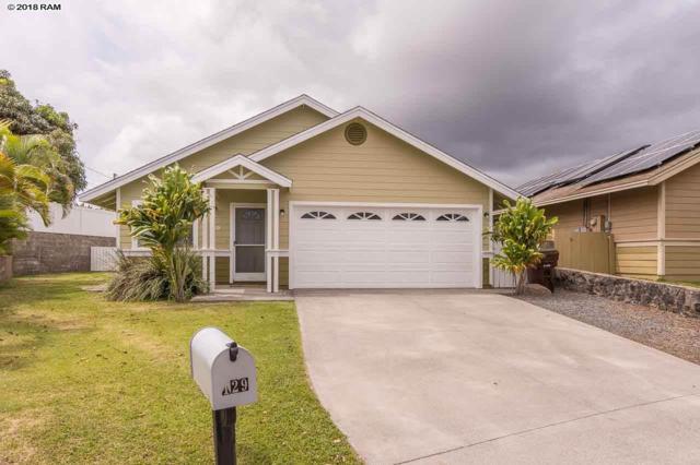 129 Iao Loop, Wailuku, HI 96793 (MLS #377543) :: Elite Pacific Properties LLC