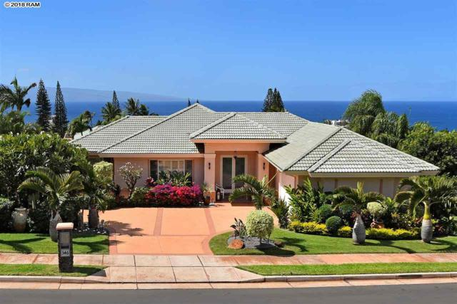 346 Aalii Way, Lahaina, HI 96761 (MLS #377783) :: Elite Pacific Properties LLC