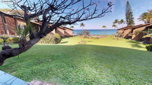3975 Lower Honoapiilani Rd #114, Lahaina, HI 96761 (MLS #377802) :: Maui Estates Group
