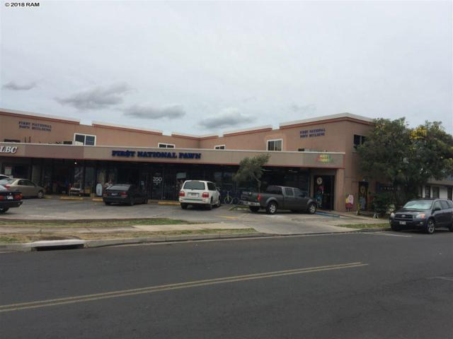 350 Hukilike St, Kahului, HI 96732 (MLS #378213) :: Elite Pacific Properties LLC