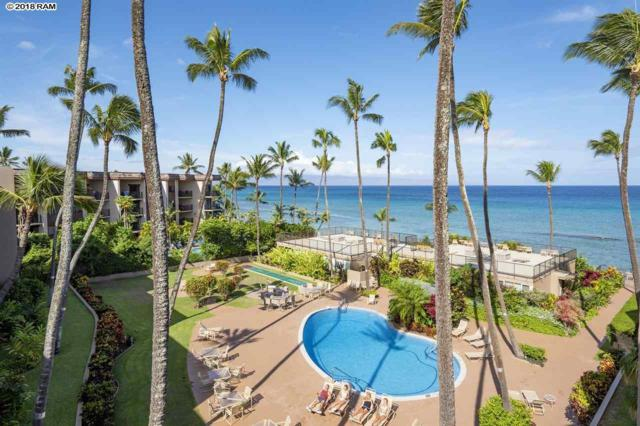3823 Lower Honoapiilani Rd #401, Lahaina, HI 96761 (MLS #379439) :: Team Lally