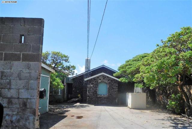 505 Kainalu St, Wailuku, HI 96793 (MLS #379980) :: Elite Pacific Properties LLC