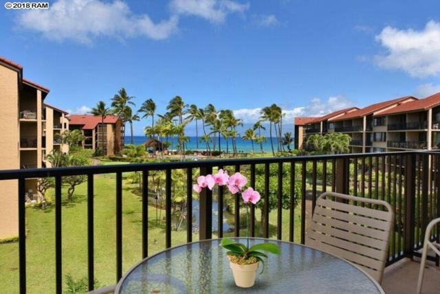 3543 Lower Honoapiilani Rd H301, Lahaina, HI 96761 (MLS #381089) :: Team Lally