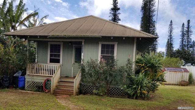 1203 Lanai Ave, Lanai City, HI 96763 (MLS #381790) :: Maui Estates Group