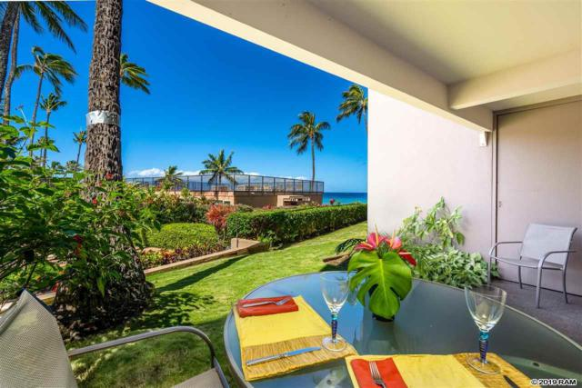 3823 Lower Honoapiilani Rd #105, Lahaina, HI 96761 (MLS #382145) :: Elite Pacific Properties LLC