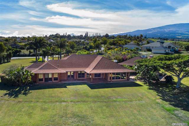 77 Ohaoha Pl, Makawao, HI 96768 (MLS #384192) :: Elite Pacific Properties LLC