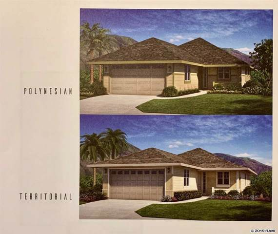 223 Puaehu St Lot 11, Wailuku, HI 96793 (MLS #384338) :: Elite Pacific Properties LLC