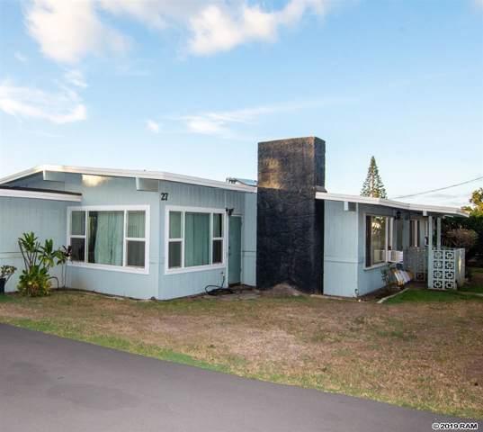 27 Nanaina St, Makawao, HI 96768 (MLS #384434) :: Maui Estates Group