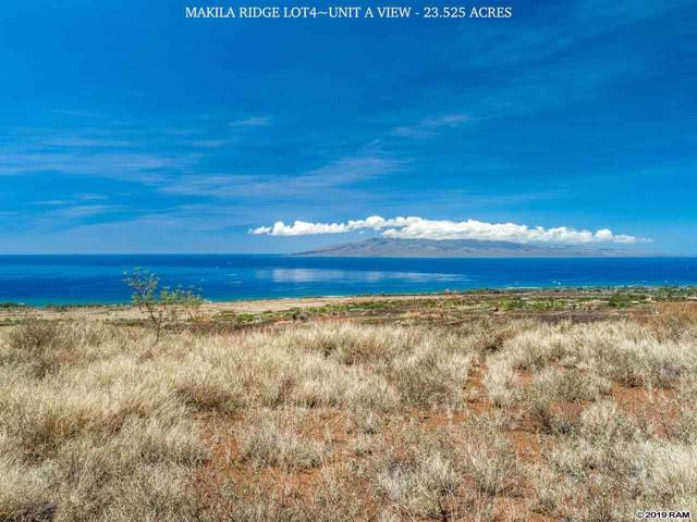 0 Punakea Loop 4B, Lahaina, HI 96761 (MLS #385034) :: Keller Williams Realty Maui