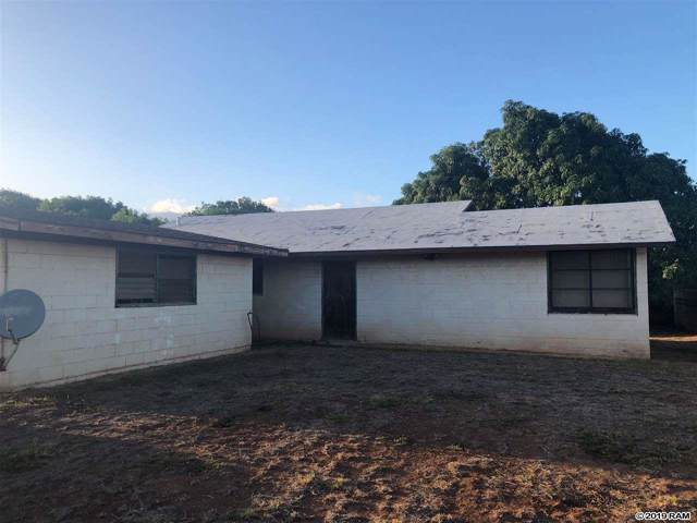23 E Hawaii St, Kahului, HI 96732 (MLS #385216) :: Maui Estates Group