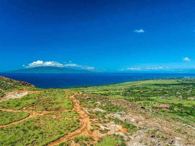 0 Wailau Pl Lot 3 Makila Nu, Lahaina, HI 96761 (MLS #386989) :: Maui Estates Group