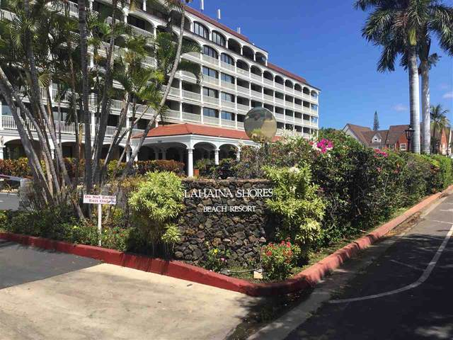 475 Front St #624, Lahaina, HI 96761 (MLS #387541) :: Elite Pacific Properties LLC