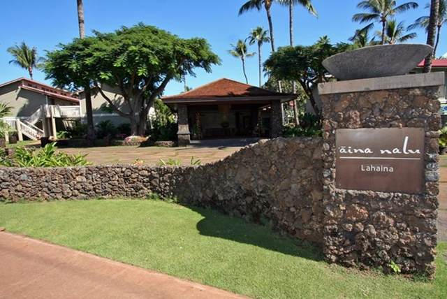 660 Wainee St B-101, Lahaina, HI 96761 (MLS #387561) :: Elite Pacific Properties LLC