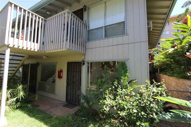 2136 Konou Pl #105, Kihei, HI 96753 (MLS #387652) :: Maui Lifestyle Real Estate