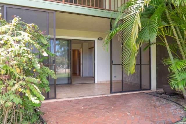 3788 Lower Honoapiilani Rd D-104, Lahaina, HI 96761 (MLS #387663) :: Maui Estates Group
