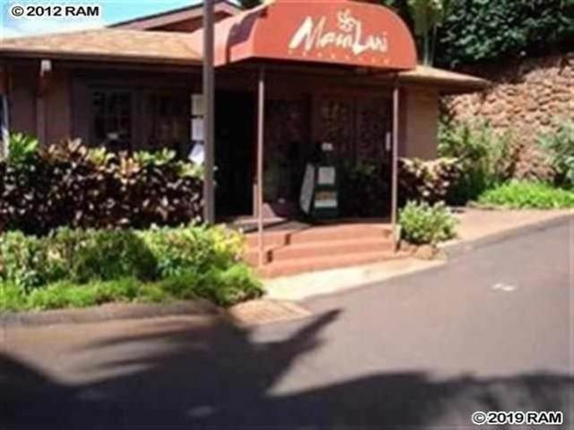 3740 Lower Honoapiilani Rd A303, Lahaina, HI 96761 (MLS #388561) :: LUVA Real Estate